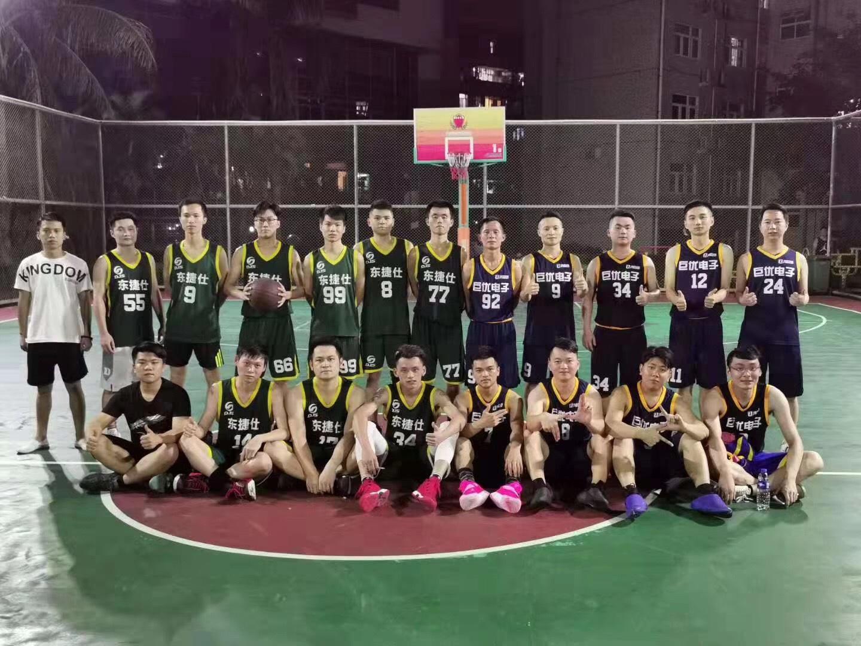 籃球友誼賽 ▎以球會友,凝心聚力 無熱血,不青春