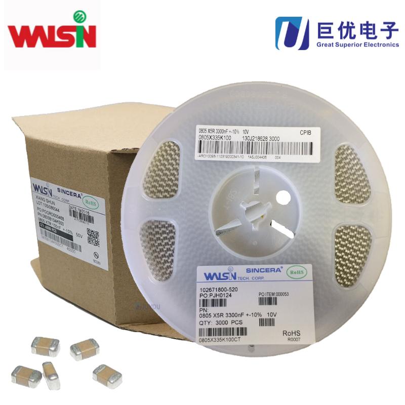 Walsin華新0402X225M6R3CT貼片電容