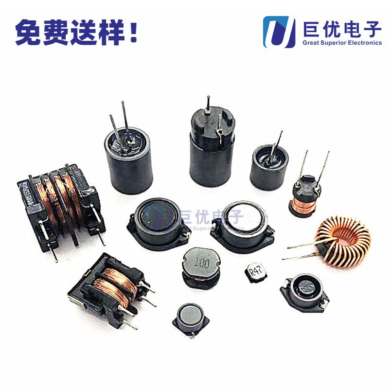 贴片功率电感RH105R-101K 电流1.09A