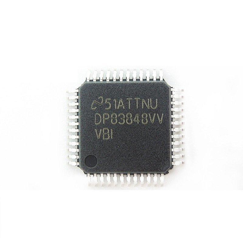 TI德州仪器 DP83848IVVX/NOPB原装正品 以太网芯片